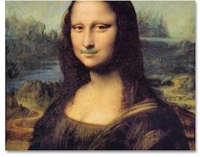 green mustache